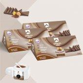 Vivol Soyulabilen Kakao Kokulu Çikolata Ağda 3 Lü Set