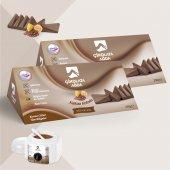 Vivol Soyulabilen Kakao Kokulu Çikolata Ağda 2 Li Set