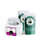 Soyulabilir İnci Boncuk Ağda 2'li Avantajlı Avokado Set