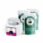 Soyulabilir İnci Boncuk Ağda 3'lü Avantajlı Avokado Set