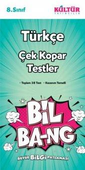 Kültür 8.sınıf Türkçe Bil Bang Yaprak Test