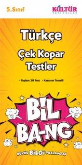 KÜLTÜR 5.SINIF TÜRKÇE BİL-BANG YAPRAK TEST