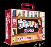 Benim Kütüphanem Ortaokul 5.6.7.8. Sınıflar (40 Kitap)
