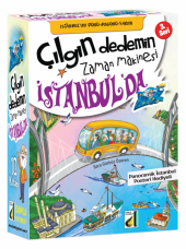 çılgın Dedemin Zaman Makinesi 3 İstanbulda (10 Kitap+hds)