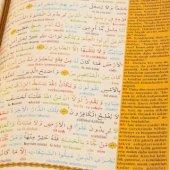 Satıraltı Renkli Kelime Kelime Türkçe Okunuşu ve Meali Orta Boy-2