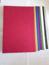 Mikro Eva Simli Yapışkanlı10 Renk 2 Mm 20 30 Cm...