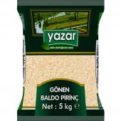 Yazar 5000 gr Yerli Gönen Baldo Pirinç