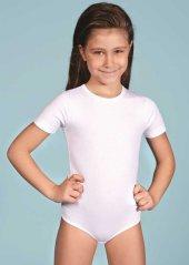 Berrak 2536 Kız Çocuk Kısa Kol Çıt Çıt Body