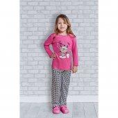 Roly Poly 1170 Uzun Kol Kız Çocuk Pijama Takımı