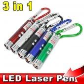 3 İn 1 Lazer Led El Feneri Sahte Para Kontrol...
