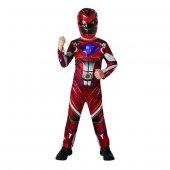 Yabidur Power Rangers Çocuk Kostüm 7 8 Yaş Lisansl...
