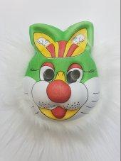 Yabidur Peluş Tavşan Maskesi Hayvan Maskeleri Karı...