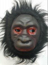 Yabidur Peluş Goril Maskesi Hayvan Maskeleri Karış...
