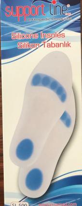 Ark Takviyeli Silikon Yoyo Tabanlık - Düz taban- Topuk ağrıları-2