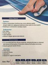 Ark Takviyeli Silikon Yoyo Tabanlık - Düz taban- Topuk ağrıları-3