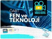 öabt Fen Ve Teknoloji Öğretmenliği 332 Saat Video Dersler