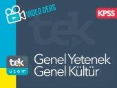 Kpss Genel Yetenek Genel Kültür 339 Saat Video Dersler Tekuzem