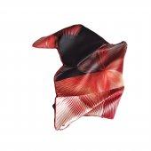 Hipnoz Desenli Eşarp - Kırmızı-2