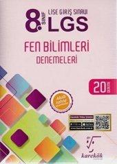 Karekök 8.Sınıf LGS Fen Bilimleri 20 Deneme