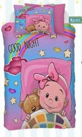 Alaca B14 Good Night 3d Bebek Nevresim Takımı
