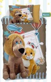 Alaca B20 Lion &cat 3d Bebek Nevresim Takımı