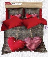 Alaca 102 Sevgi Bağı 3d Çift Kişilik Nevresim Takımı
