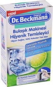 Dr.beckmann Bulaşık Makinesi Temizleyici 75gr + Temizleme Mendili