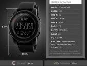 Skemi Su Geçirmez Asker Kol Saati Dijital Garantili Saat-4