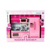 Modern Kitchen 3 Bölmeli Işıklı Sesli Mutfak...