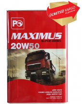 Petrol Ofisi Maximus Süper Diesel 20w50 18 Litre
