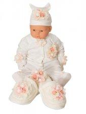 Mecit 5li Bebek Tulum Ve Lohusa Terlik Taç Seti 204