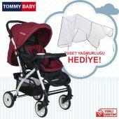 Tommybaby Eagle Alüminyum Lüx Çift Yön Bebek Arabası-11