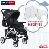Tommybaby Eagle Alüminyum Lüx Çift Yön Bebek Arabası-12