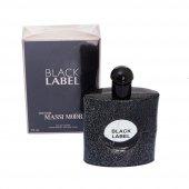 The New Massimoore Black Label Kadın Parfümü 90...