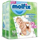 Molfix Bebek Bakım Örtüsü 60x60 Cm 10 Pcs
