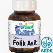 Kalsiyum Folik Asit 90 Kapsül 400 Mg Vitamin B9 Fo...