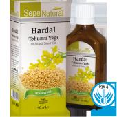 Hardal Tohumu Yağı 50 Ml 100 Saf Soğuk Sıkım
