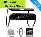 Iphone Tam Kaplayan 3d Flexible Nano Esnek Cam...