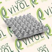 15 Li Tava Karton Yumurta Viyolü 10 Adet (Yumurta Kartonu, Viyol Pvc, Yumurta Kolisi, Şeffaf, Plastik
