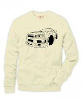 Tshirthane Nissan Skyline Sweatshirt Uzunkollu