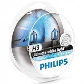 Philips H3 Diamond Vision Ultra Beyaz Işık 5000k 12336dvs2