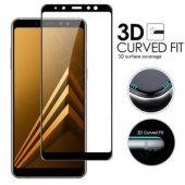 Samsung Galaxy A5 A6 A7 A8 A9 J4 J6 Plus 2018 5D Kırılmaz Cam
