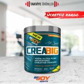 Bigjoy Creabig Creatine Powder 300 gr Kreatin