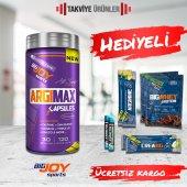 Bigjoy Argimax 120 Bitkisel Kapsül + Hediyeli