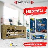 Olimp Gold Omega 3 Sport Edition 120 Kapsül + Hediyeli