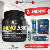 Olimp Amino 5500 400 Kapsül + 2 Hediye