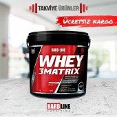 Hardline Whey 3Matrix 4000 gr Protien Tozu