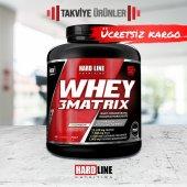 Hardline Whey 3Matrix 2300 gr Protein Tozu