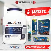 Sci-Mx Ultra Whey Protein 2280 gr Whey Protein Tozu + 6 Hediye