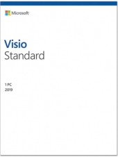 Mıcrosoft Vısıo Standart 2019 Esd D86 05822